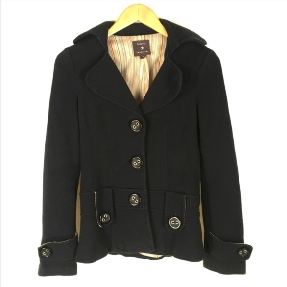 Forever 21 Jackets & Blazers - Forever 21 Navy Coat Big Buttons Size Small